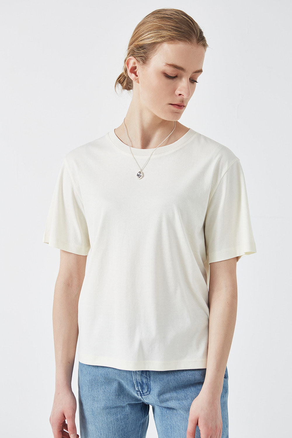 Basic T-Shirt Cream
